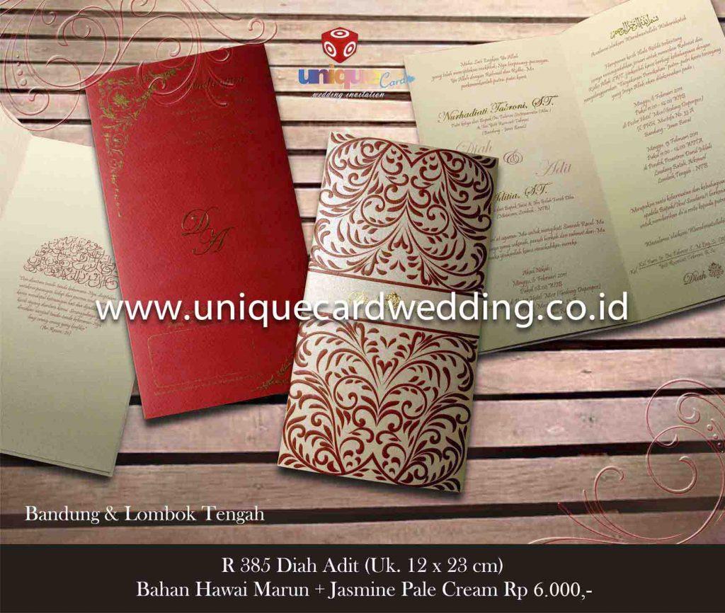 undangan pernikahan#Diah Adit
