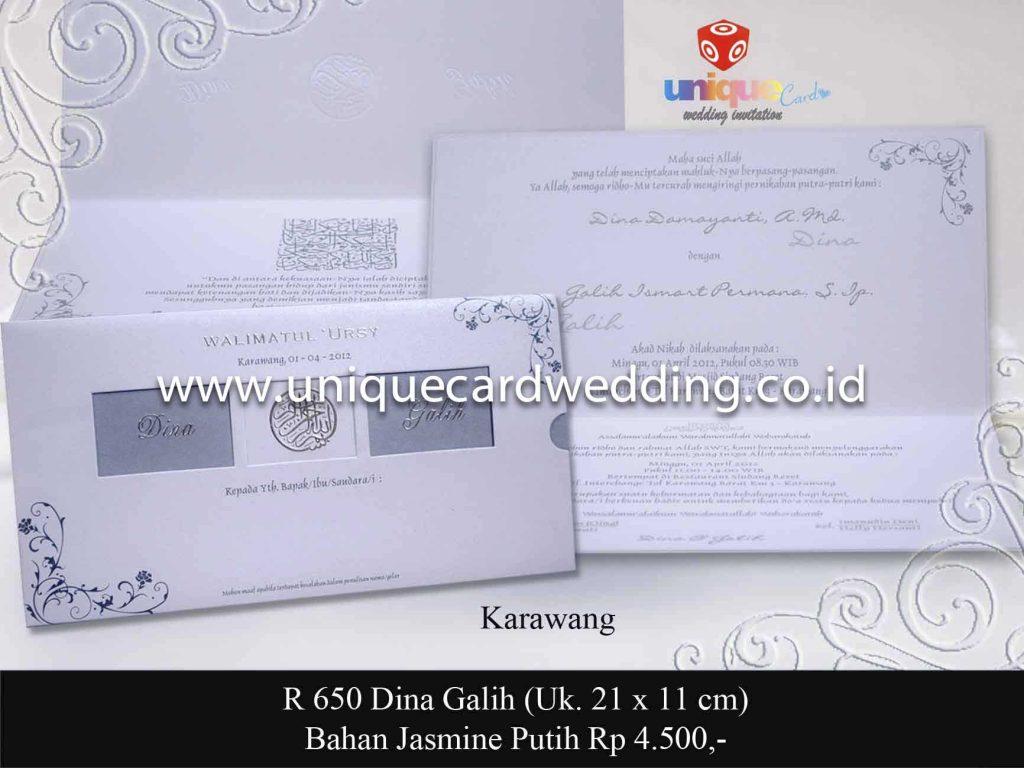 undangan pernikahan#Dina Galih