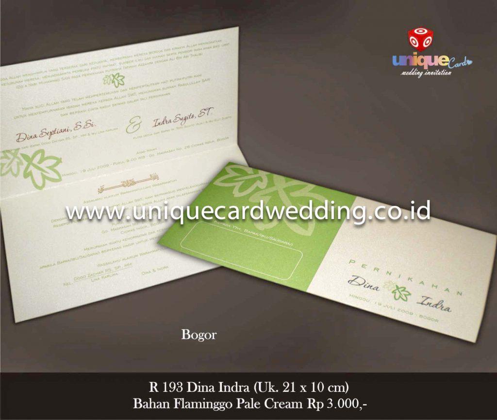 undangan pernikahan#Dina Indra