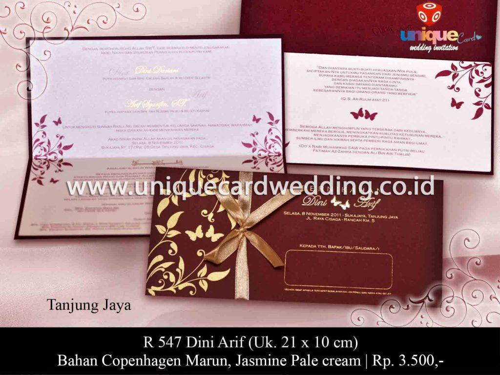 undangan pernikahan#Dini Arif