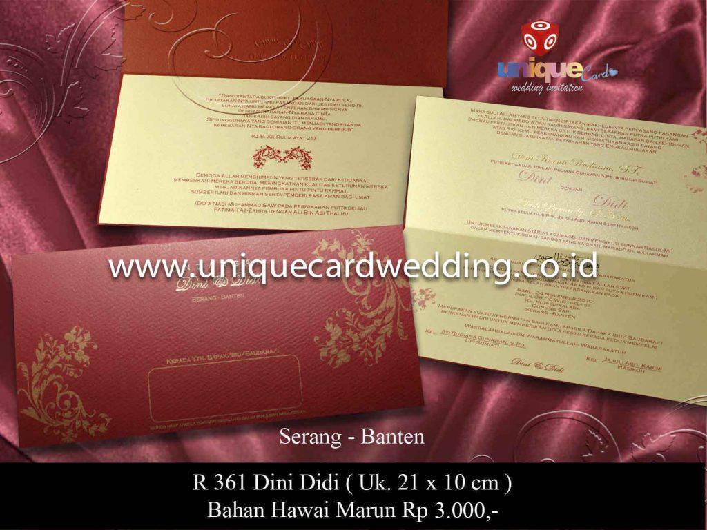 undangan pernikahan#Dini Didi copy