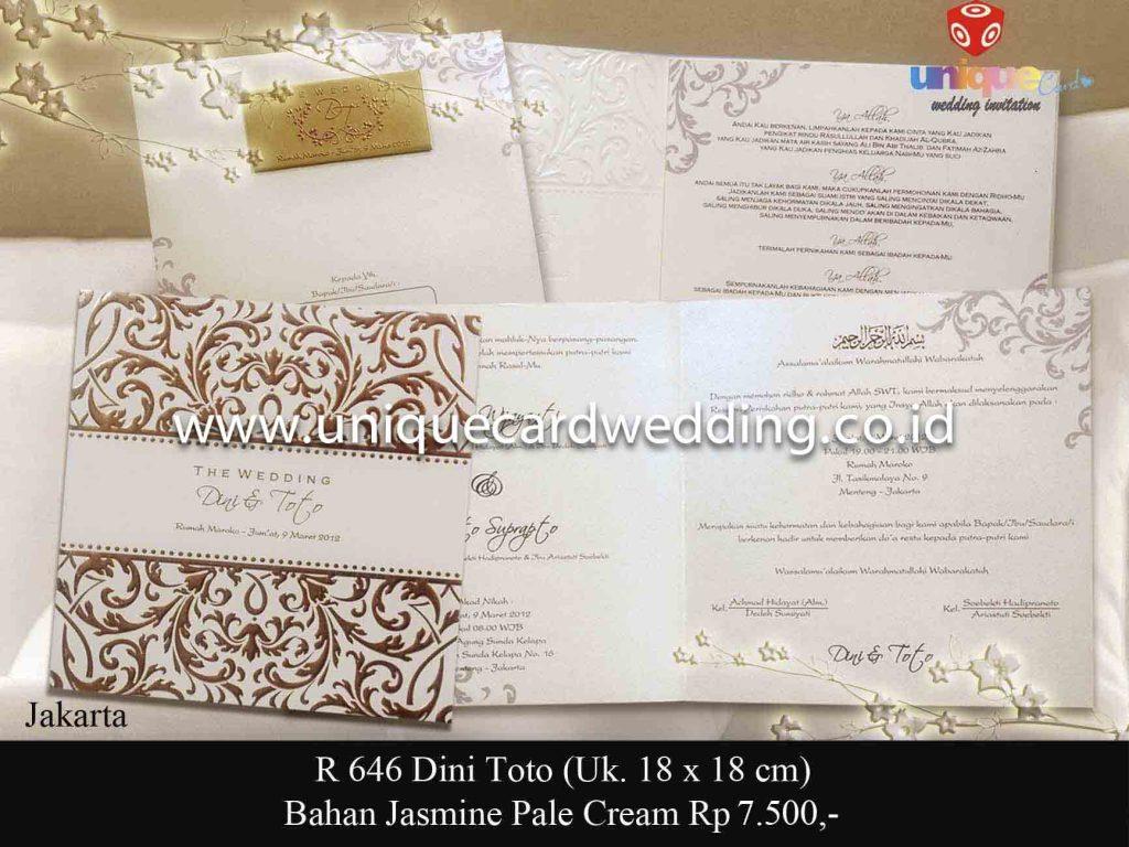 undangan pernikahan#Dini Toto