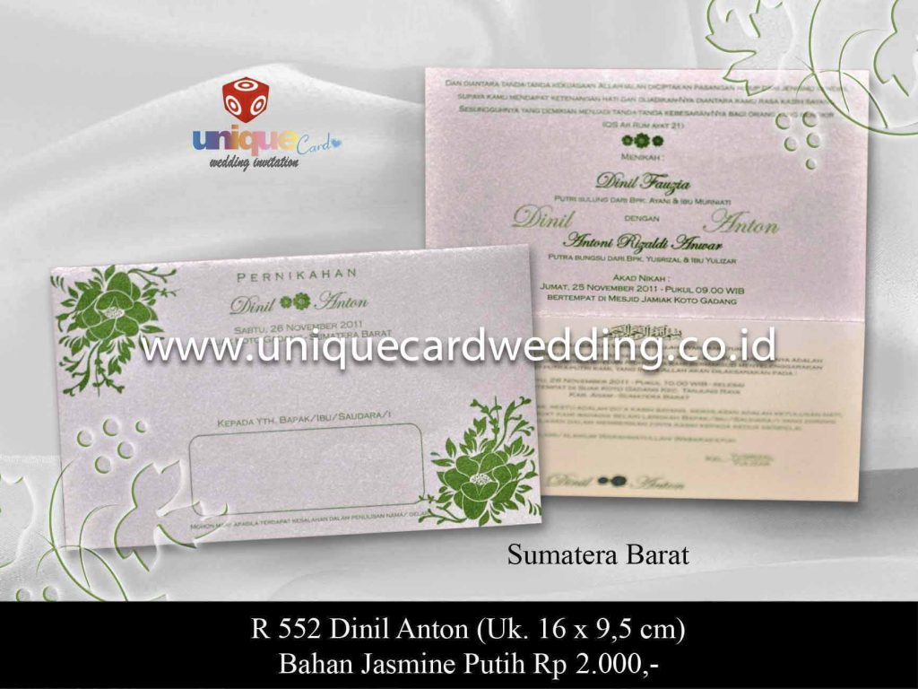 undangan pernikahan#Dinil Anton