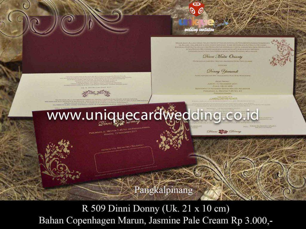 undangan pernikahan#Dinni Donny