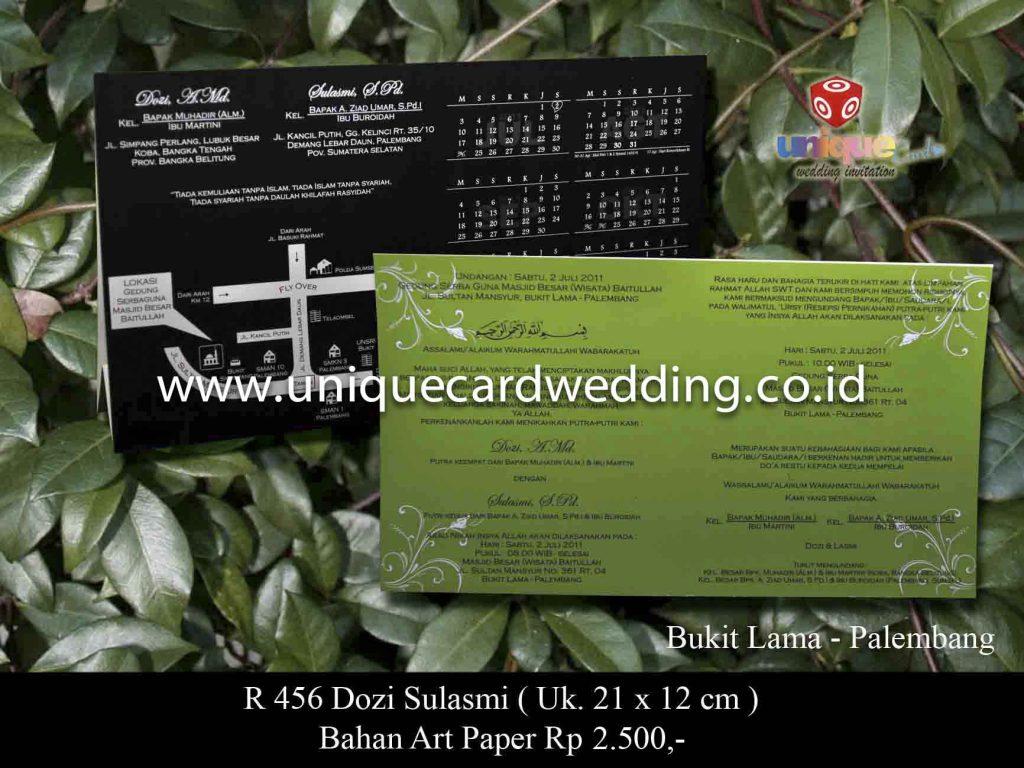 undangan pernikahan#Dozi Sulasmi