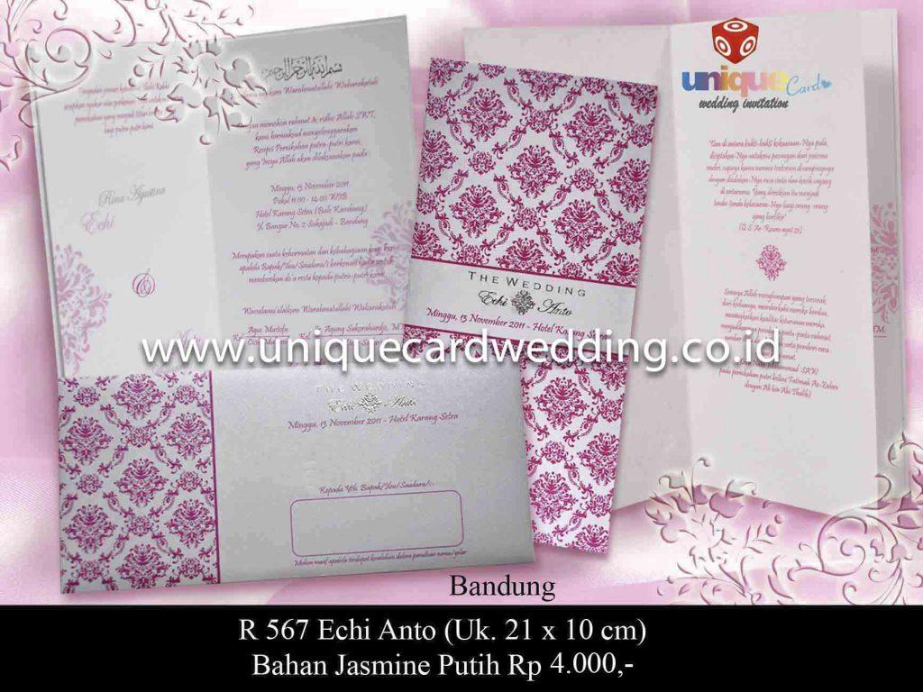 undangan pernikahan#Echi Anto