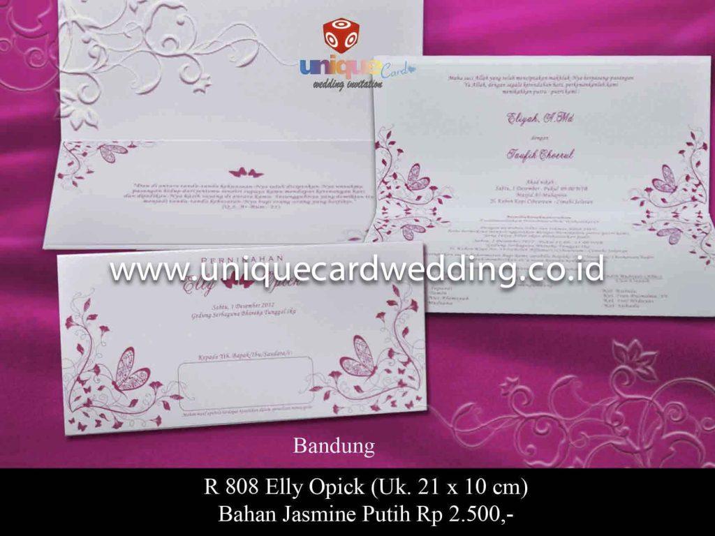 undangan pernikahan#Elly Opick