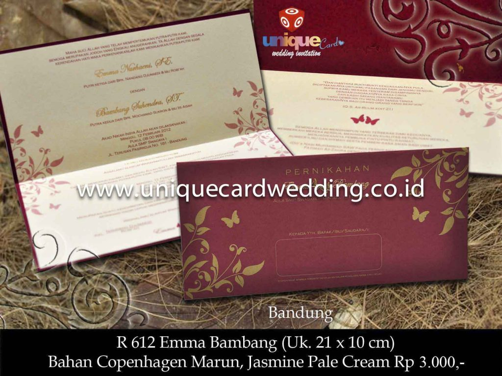 undangan pernikahan#Ema Bambang