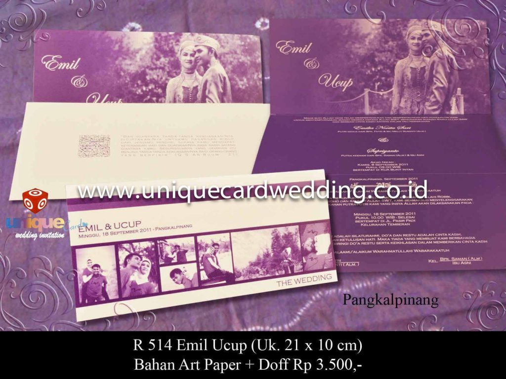 wedding invitation#emil-ucup