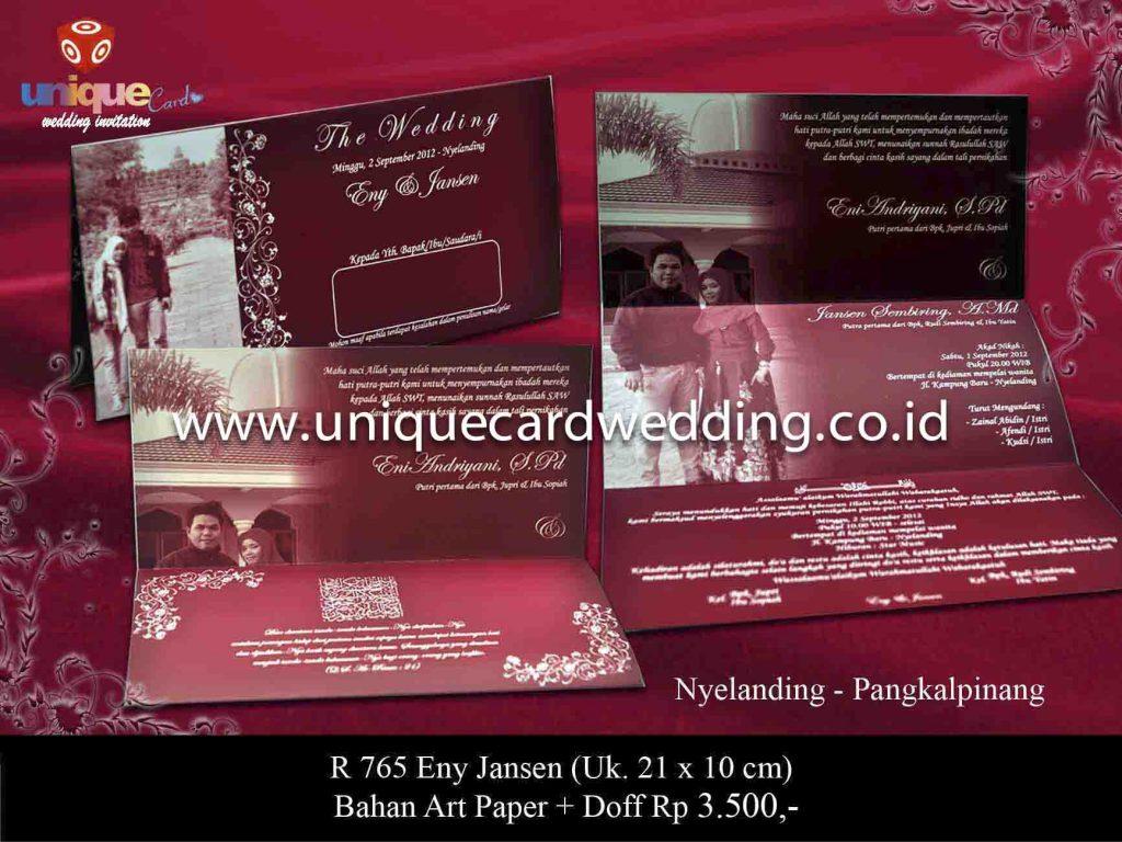 undangan pernikahan#Enny Jansen