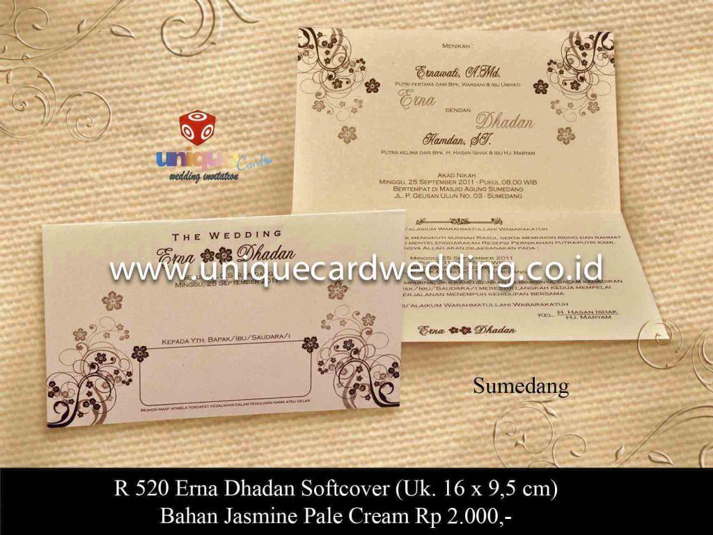 undangan pernikahan#Erna Dhadan SC