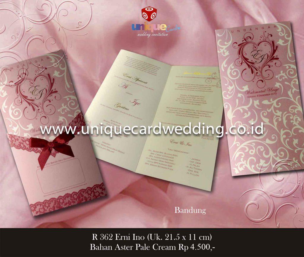 undangan pernikahan#Erni Ino