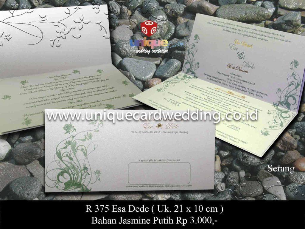 undangan pernikahan#Esa Dede