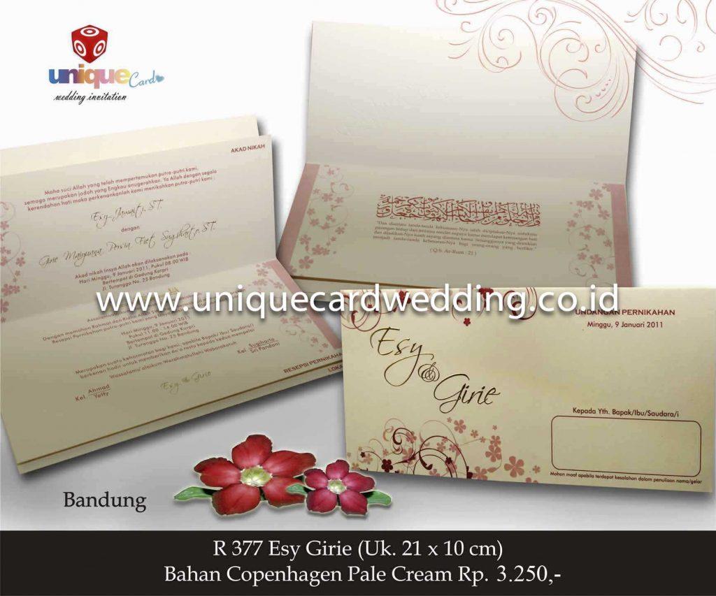 undangan pernikahan#Esy Girie