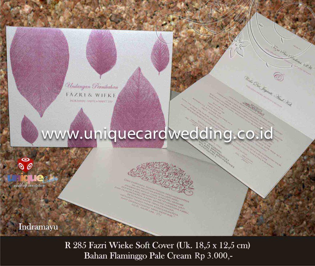undangan pernikahan#Fazri Wieke SC