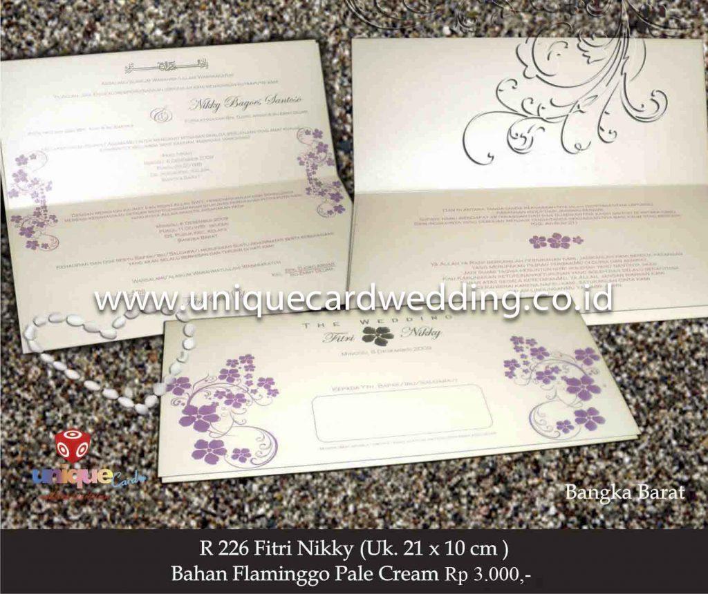 undangan pernikahan#Fitri Nikky