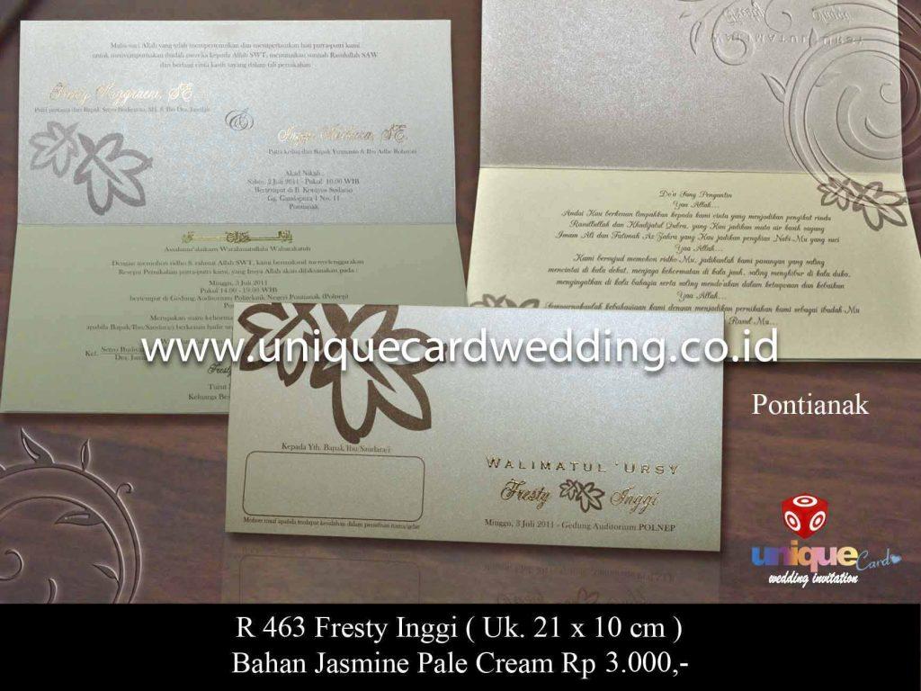 undangan pernikahan#Fresty Inggi