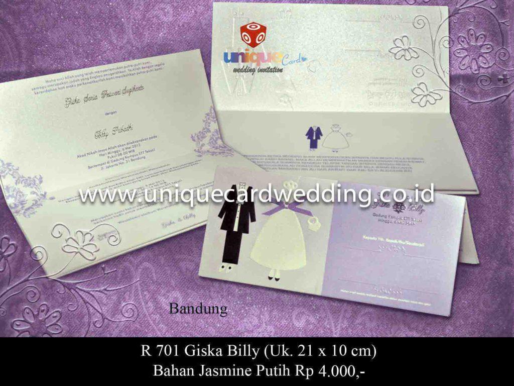 undangan pernikahan#Giska Billy