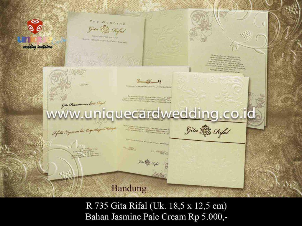undangan pernikahan#Gita Rifal