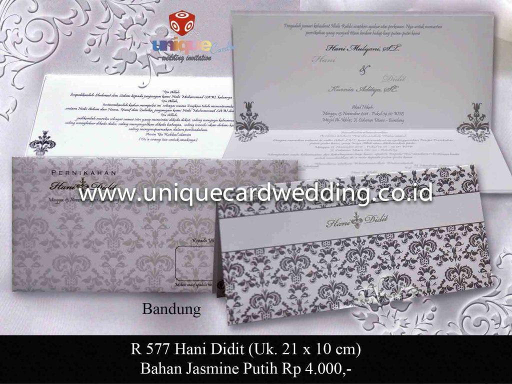 undangan pernikahan#Hani Didit_