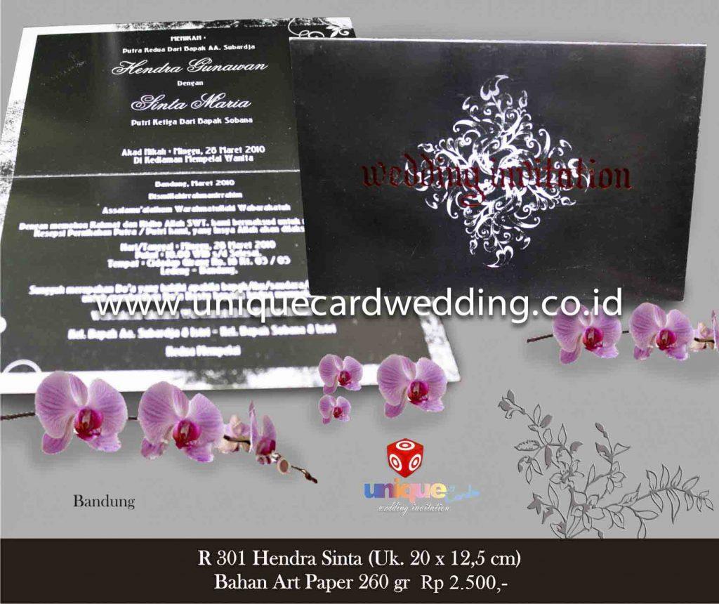 undangan pernikahan#Hendra Sinta