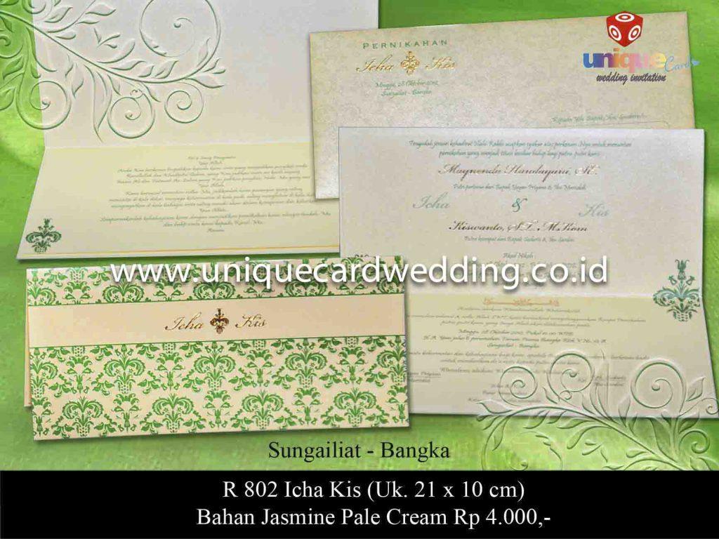 undangan pernikahan#Icha Kis
