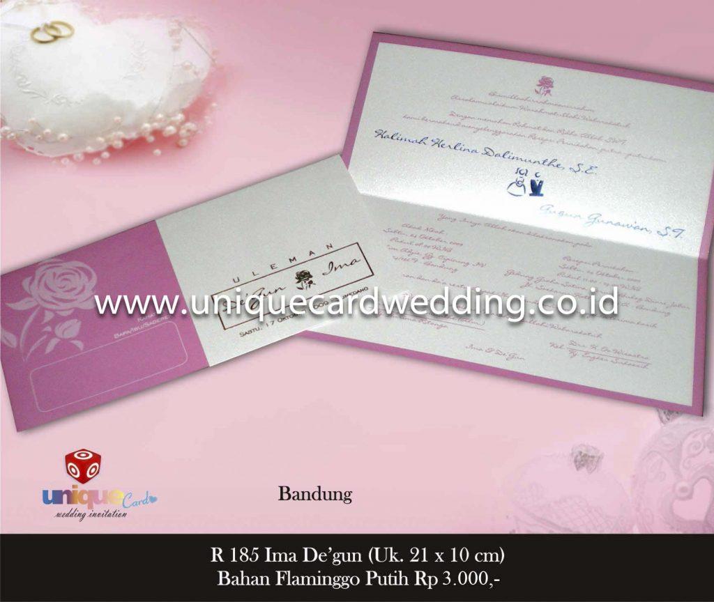undangan pernikahan#Ima Degun