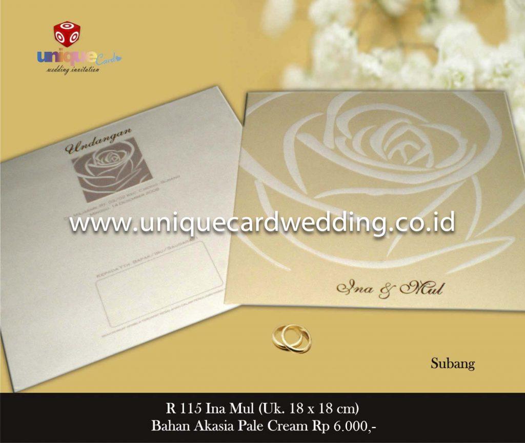 undangan pernikahan#Ina Mul