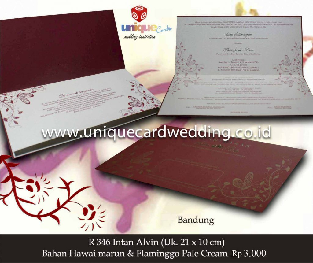 undangan pernikahan#Intan Alvin