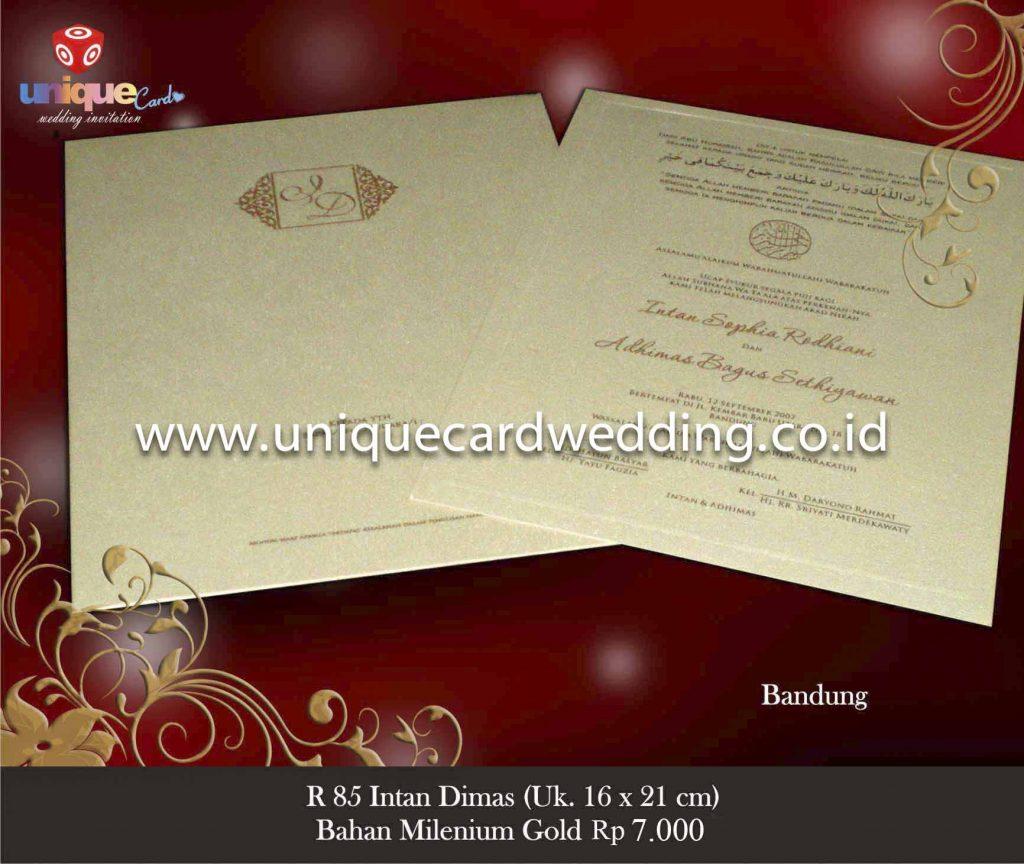 undangan pernikahan#Intan Dimas