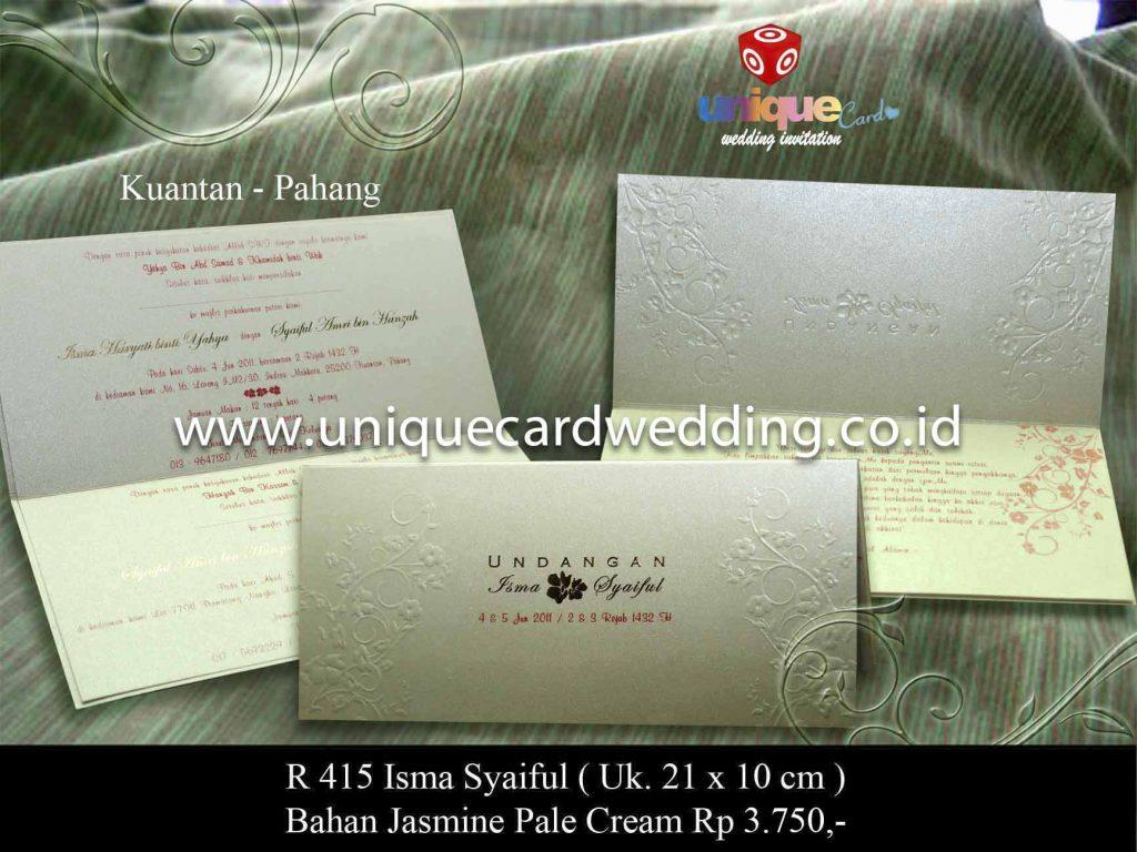 undangan pernikahan#Isma Syaiful