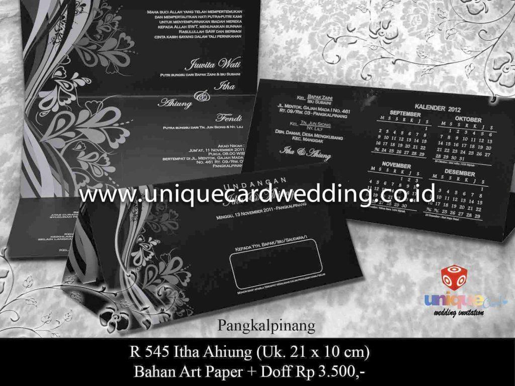 undangan pernikahan#Itha Ahiung