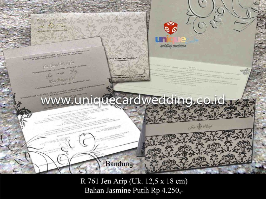 undangan pernikahan#Jen Arif
