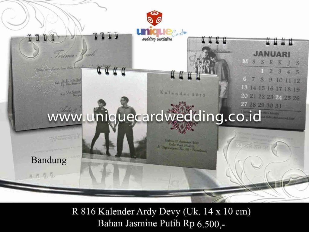 undangan pernikahan#Kalender Ardy Devy