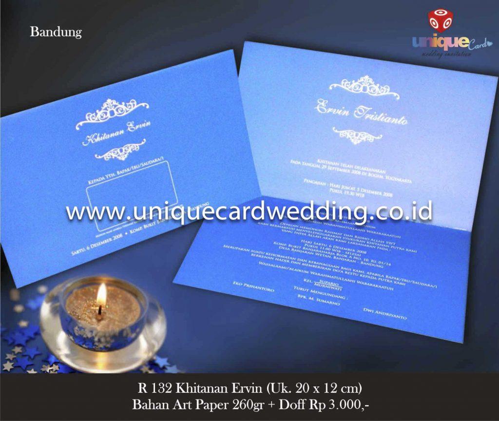 undangan pernikahan#Khitanan Ervin