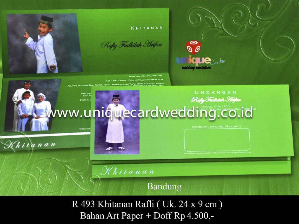 undangan pernikahan#Khitanan Rafli