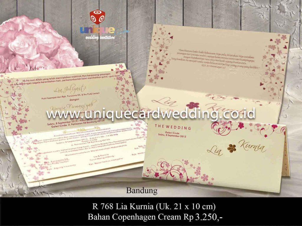 undangan pernikahan#Lia Kurnia