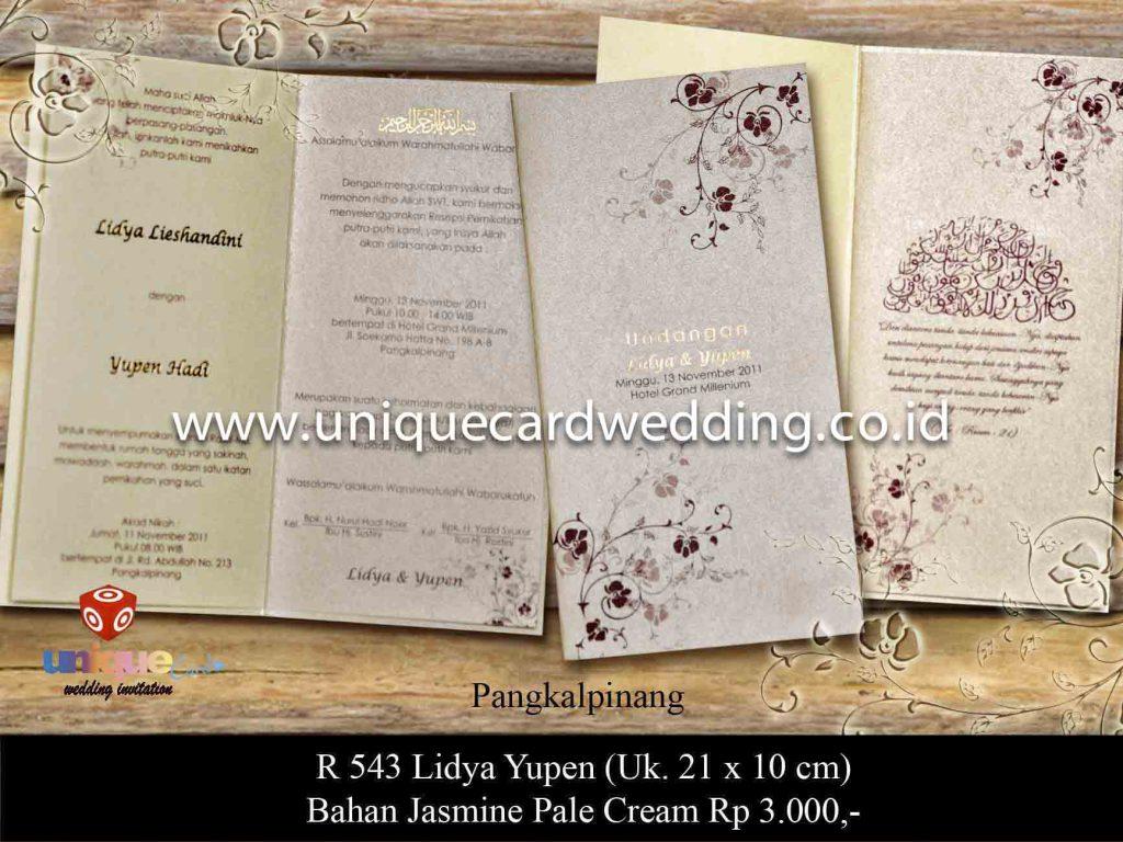 undangan pernikahan#Lidya Yupen