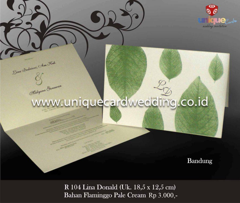 undangan pernikahan#Lina Donald