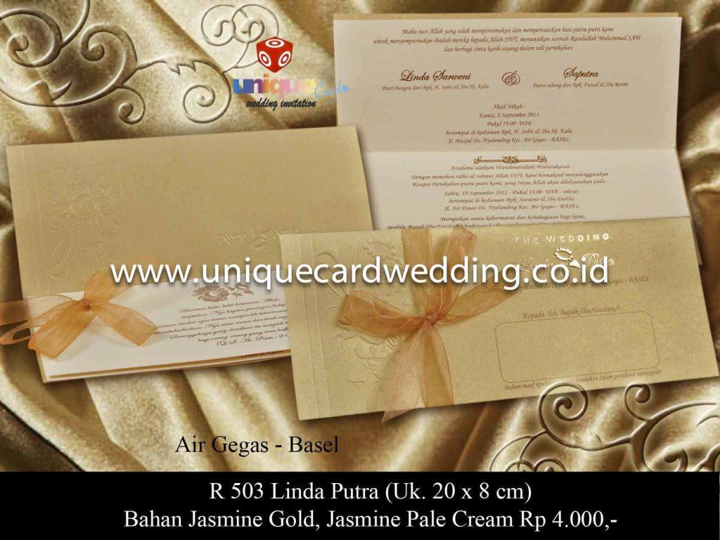 undangan pernikahan#Linda Putra