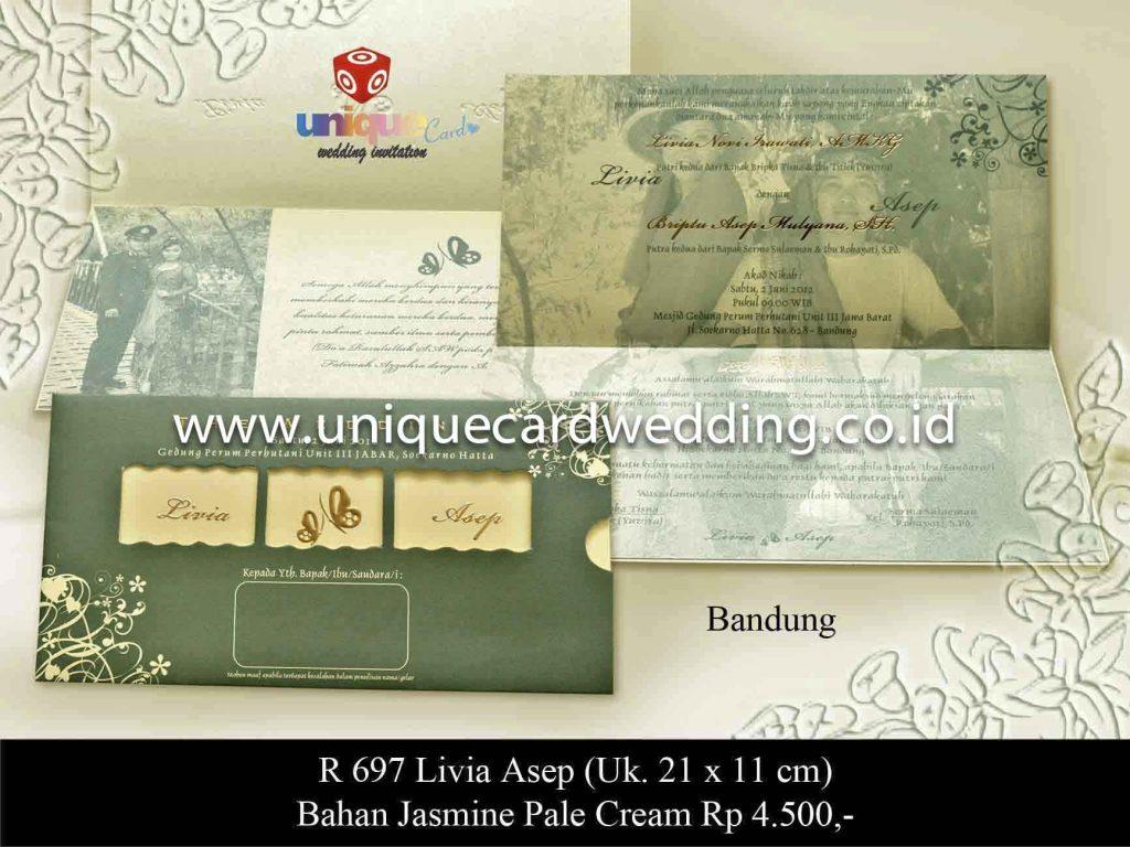 undangan pernikahan#Livia Asep