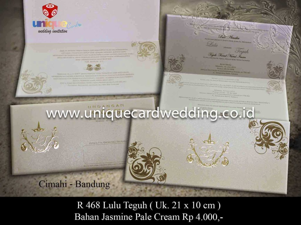 undangan pernikahan#Lulu Teguh_