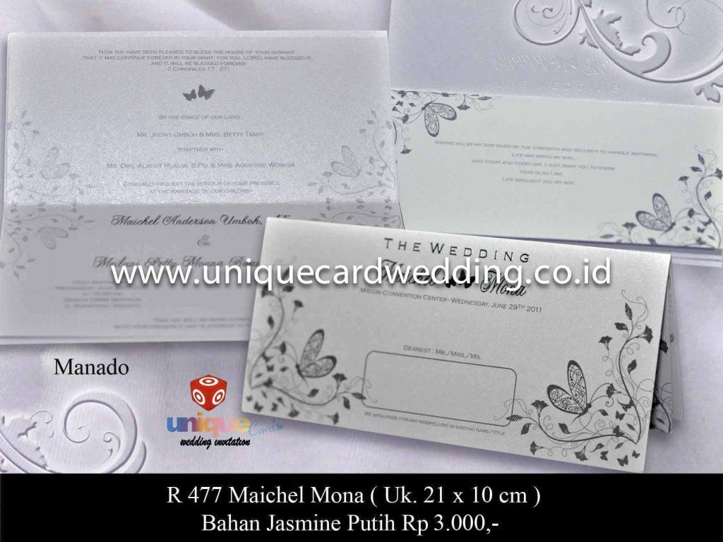 undangan pernikahan#Maichel Mona