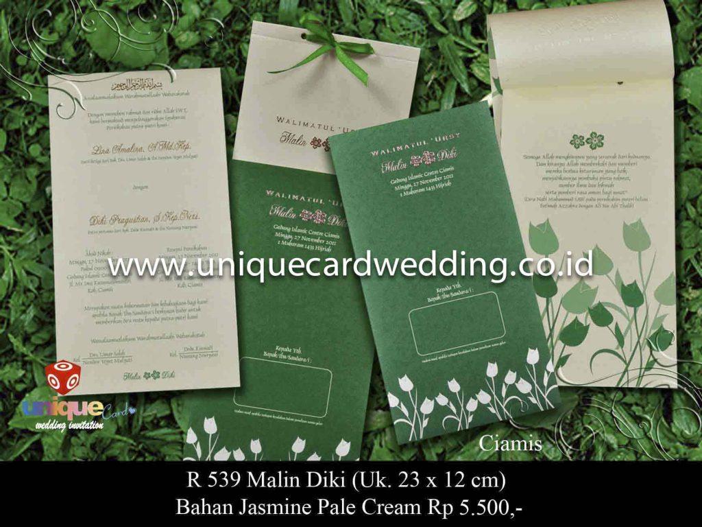 undangan pernikahan#Malin Diki