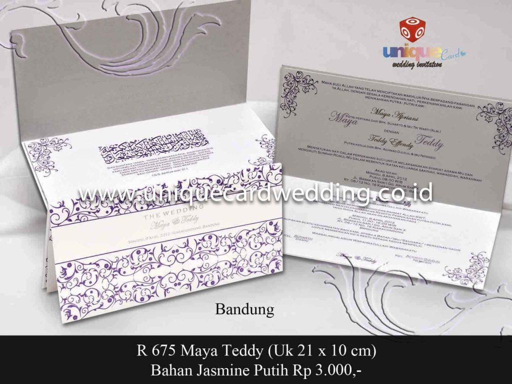 undangan pernikahan#Maya Tedy