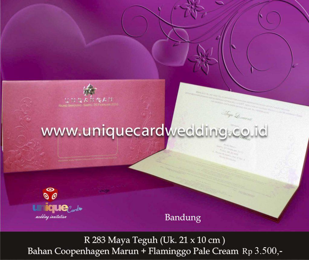 undangan pernikahan#Maya Teguh