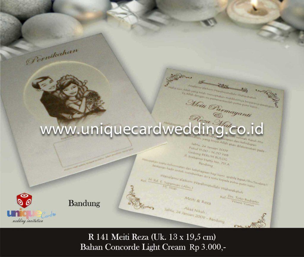 undangan pernikahan#Meiti Reza