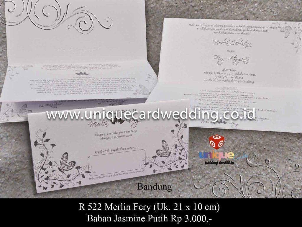 undangan pernikahan#Merlin Fery