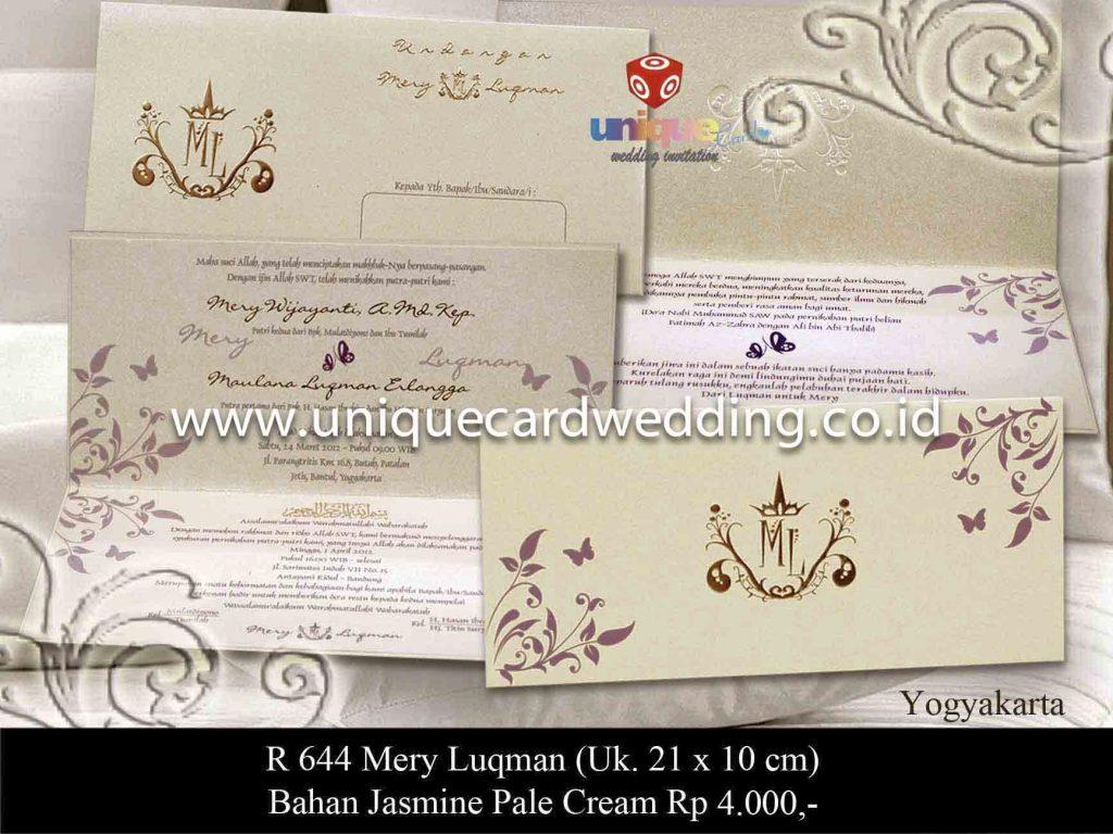 undangan pernikahan#Mery Luqman