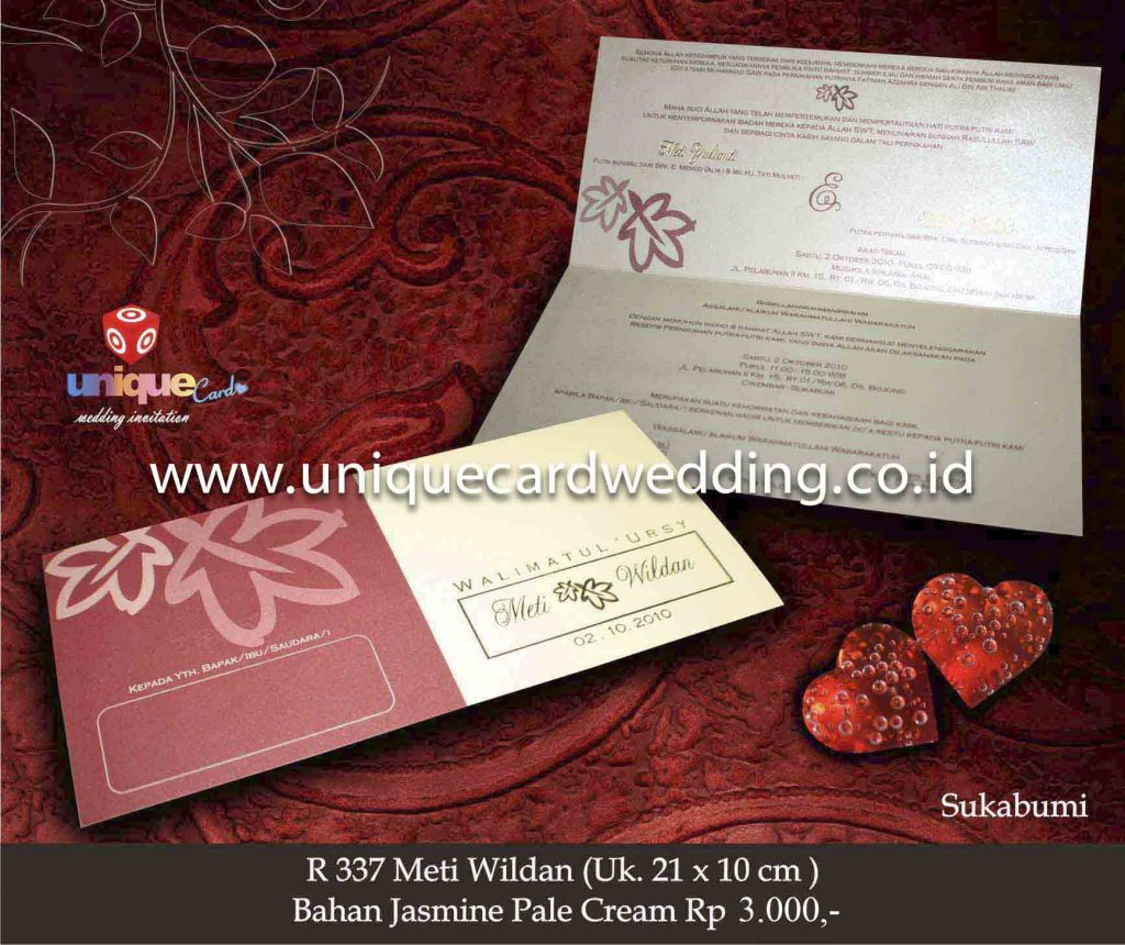 undangan pernikahan#Meti Wildan